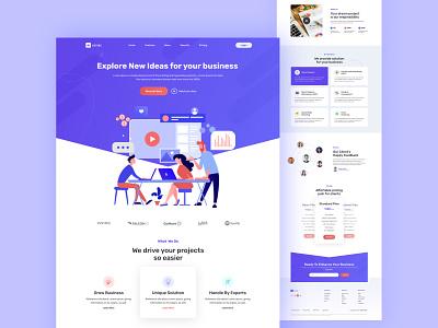 Beyons- Digital Agency Landing Page digital marketing agency business digital agency agency