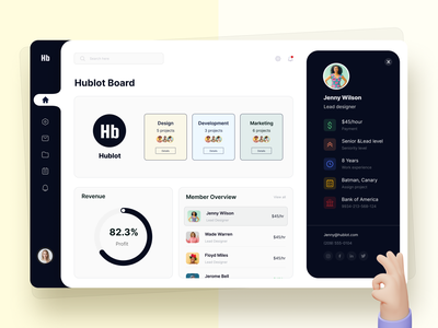"""Team management""  Dashboard UI Exploration dashboard web design clean design minimal typogaphy 2021 trend trendy design team management management app management team ux ui dashboard ui kit dashboard ui dashboad"