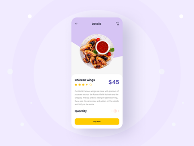 Mobile App UI Exploration typography trendy shot trendy app 2021 trend trendy design design minimal ios app android app taste mobile food app foodie food ux ui app design