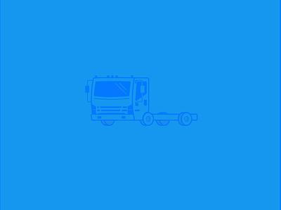 Isuzu Icon icon mail wheels box delivery shipping truck isuzu