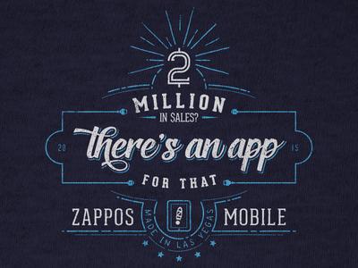 $2m Zappos Mobile Shirt mobile zappos shirt