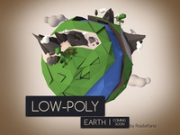Low-Poly Earth Planet