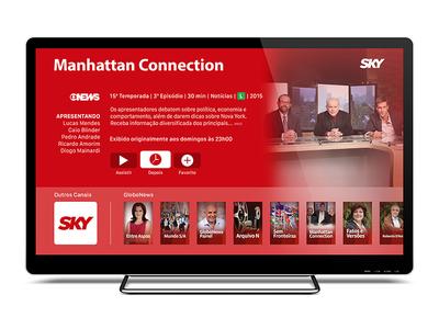 SKY App for Apple TV tv apple tv tvos app sky