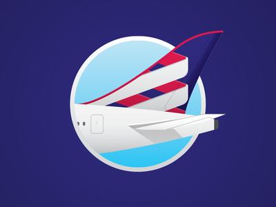 Latam Stabilizer Paint airline latam airplane