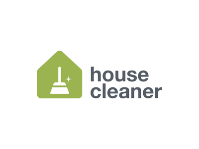 House Claener house cleaner house cleaner brand icon