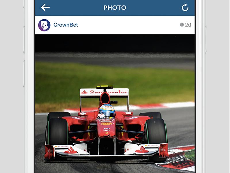 Instagram punter gambling wagering racing sports tennis