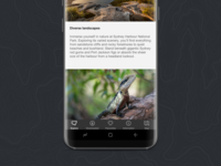 Park page detail - NSW National Parks App