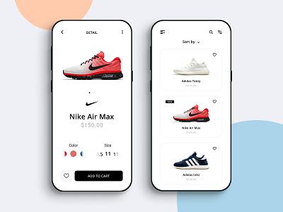 Shoes Store shoes app shoestore sneakers best shot mobile design mobile app dribbble best shot dribbble app design
