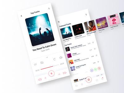Music Player musicplayer music app dribble top best shot mobile design mobile app dribbble best shot dribbble app design