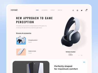 concept figmadesign sony dribble top best shot ui dribbble best shot dribbble design