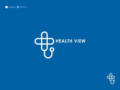 Health View Logo Design corporate