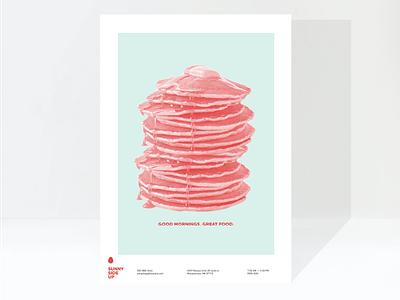 Sunnyside Up poster design restaurant branding brand identity retail design brand design