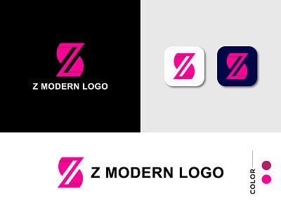 Modern Z Logo | Z monogram app icons designer app icon design logo designer app logo design app icon apps app logo colorful logo modern design z monogram logos modern logo z modern