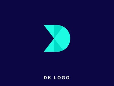 DK Monogram | DK Logo logo designer logo logo design logotype lettermark brand design branding 3d creative logo icon app app icon app logo modern logo idenity brand identity brand dk monogram dk logo dk