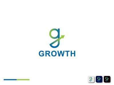 Growth logo | G Letter Mark abstract logo 2021 modern logo 2020 new logo modern logo designer modern logo modern logo designer logo mark logo agency g monogram g grow growth logo growth g logo