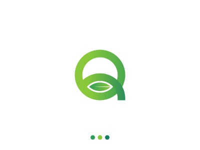Q Leaf Logo | Q letter logo logotype logo design minimalist logo creative logo logo design 2021 logo designer leaf logo q monogram monogram logo lettermark brand identity logo designs logo q logo q letter logo