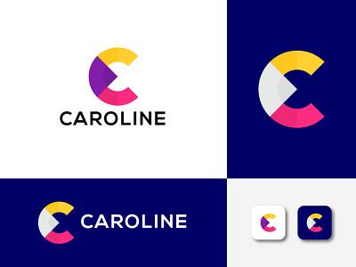 C letter logo latest logo 2021 logo. new logo 2021 brand identity minimalist logo logo 2021 modern logo alphabet c monogram monogram creative logo c letter logo c logo