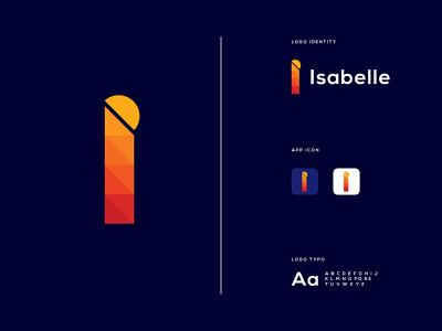 i Letter Logo | Modern Logo design logos creative logo monogram logo branding minimalist logo lettermark logo maker logo designer new logo 2021 brand identity monogram i monogram i letter logo logo design i logo