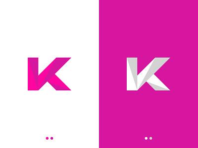 K Letter Logo logo 2021 logo designer brand identity best logo new logo design logo design monogram letter logo k monogram k letter logo k logo