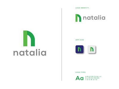 N Letter Logo logo designer logos monogram n monogram n letter logo n logo design creative logo monogram logo brand identity lettermark logo logo design