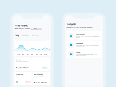 QTB Mobile overview analytics dashboard payment nigeria app ios mobile