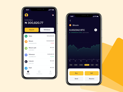 Cryptocurrency Exchange App wallet lagos mobile ui app mobile crypto exchange cryptocurrency crypto wallet crypto