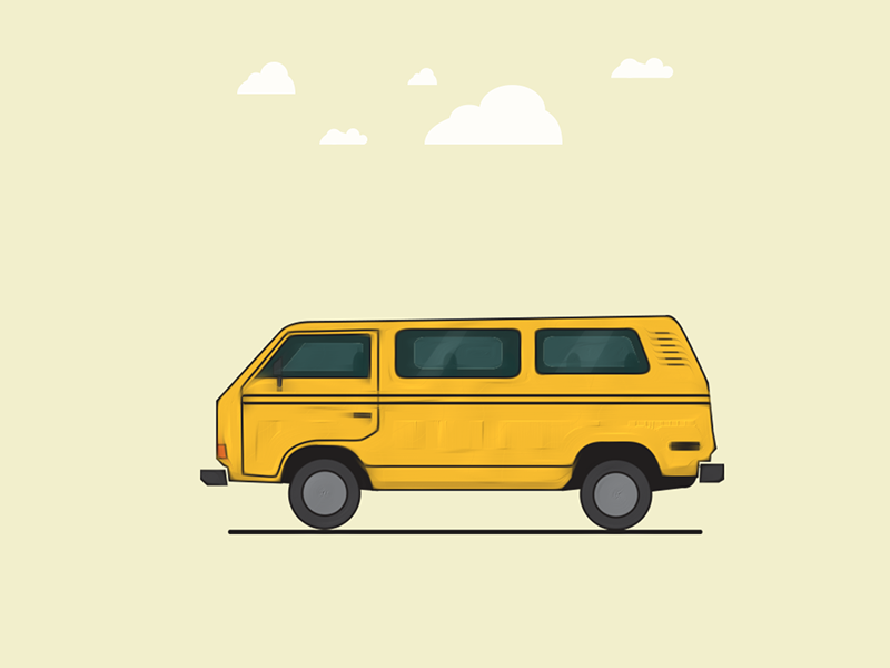 Danfo yellow nigeria transport gidi lagos illustration bus danfo