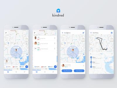 Kindred: User history work-flow