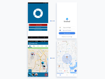 Kindred Comparison (1) redesign android mobile app