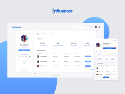Connecting Influencers