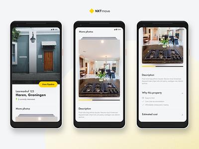 NXTmove: Real Estate concept 2 mobile web web real estate sketch