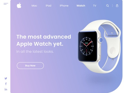 Apple Watch Landing Page apple design apple watch web design landing page design landing web webdesign website apple