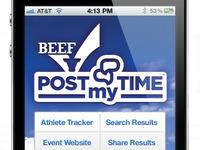 Missouri Beef PostMyTime iPhone app