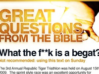 "Bellview.org ""Great Questions"" sermon series"