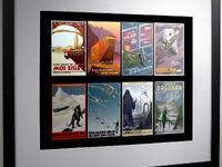 Framed Mockup - Vintage Star Wars Travel Posters