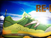 'RE•EVOLUTION: Natural Running' artwork