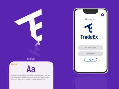 TradeEx Logo graphicdesign concept design logo mark logoredesign logosale logoset logosai logoroom logomarks logotype designer logomaker logomark logotypedesign logotypes logotipo logos logodesign logotype logo design logo