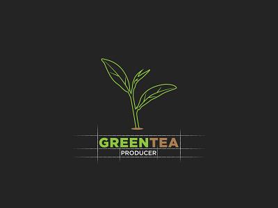 Green Tea Minimal Logo,  Logo from Image! vector sketch logo logosketch illustration business logo logomaker logo design logodesign creative branding logotype design branding concept design graphicdesign creative logo clean concept creative logos logo