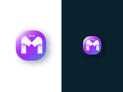 Letter M App Icon, Modern Lettermark Logo Design app logo app icon design colorful logo gradient logo corporate logo lettermark logo concept design creative modern vector app icon illustration graphicdesign design modern logo branding creative logo logo