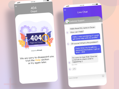 Daily UI Challenge: Ch. N8 and N13 dailyuichallenge socialmedia dailyui challenges app branding xd design ux ui design