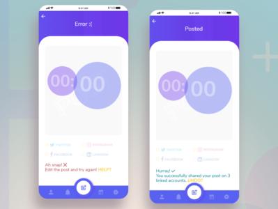 Daily UI Challenge: Ch. N11 socialmedia dailyuichallenge dailyui challenges app branding xd design ux ui design