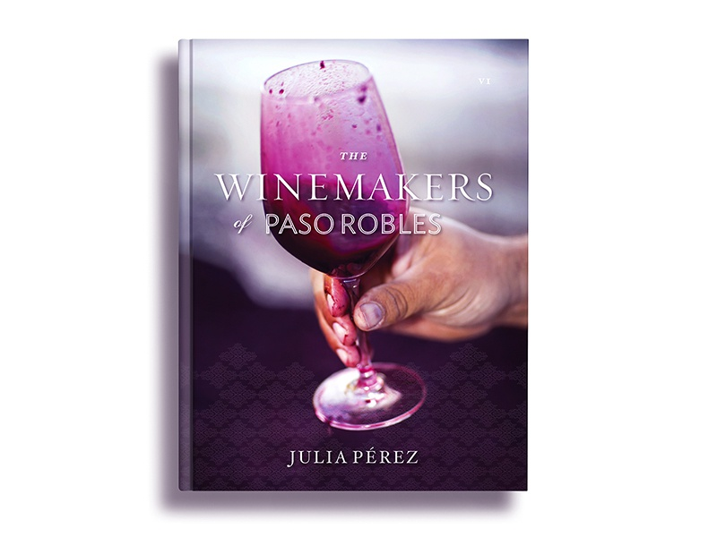 The Winemakers of Paso Robles typography design book photography
