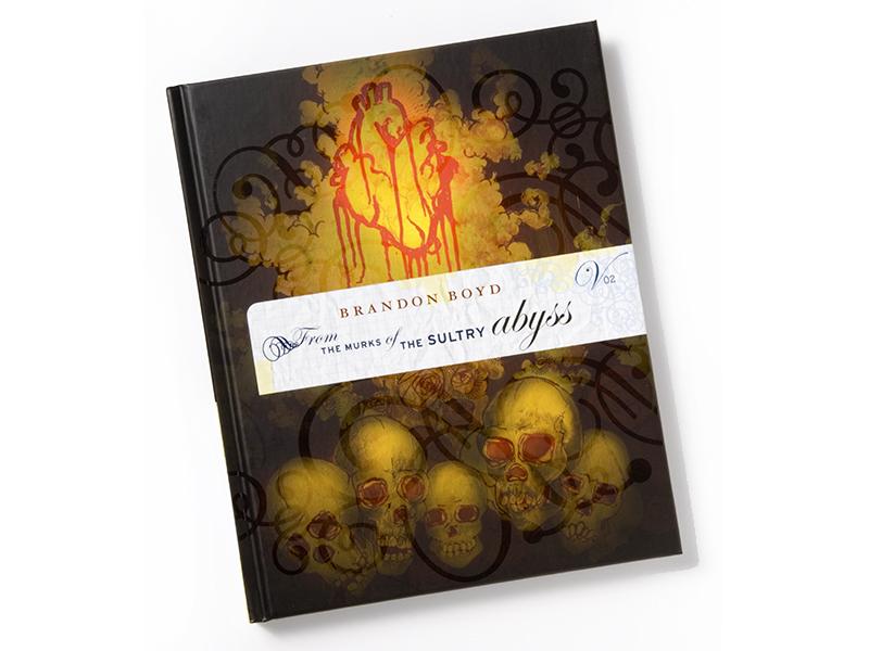Brandon Boyd Book Design typography layout packaging design book