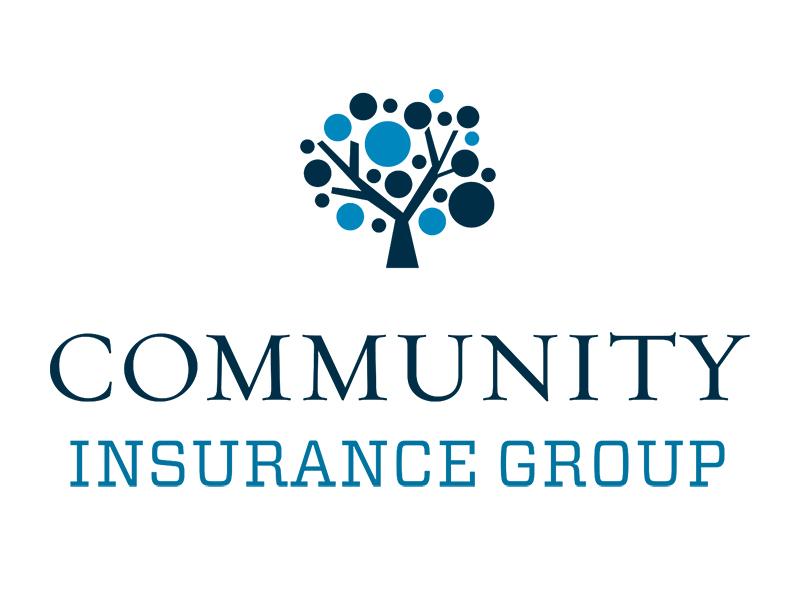 Community Insurance Group Corporate Identity icon illustration layout design branding corporate identity