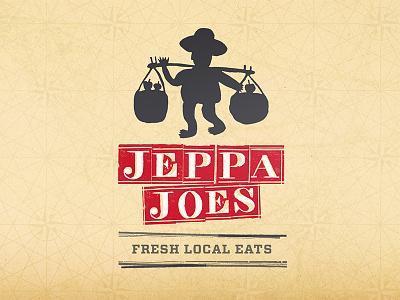 Jeppa Joes Corporate Identity illustration design logo packaging identity