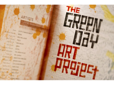Green Day Catalog Design