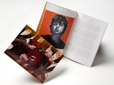 Green Day Catalog Design typography layout packaging design book