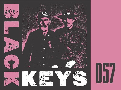 Everyday - 057 everyday band merch texture merch black keys