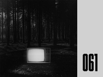Everyday - 061 atmosphere creepy horror tv black and white everyday