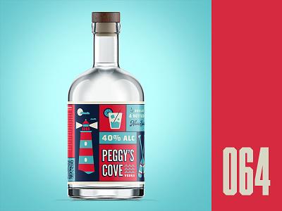 Everyday - 064 east coast spirts packaging vodka drinks illustration everyday